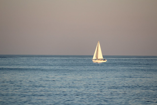 Sailing Boat alone