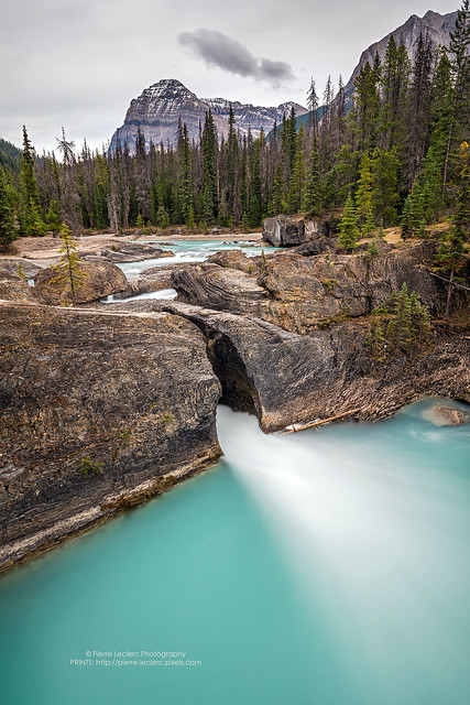 Natural Bridge of Yoho National Park taken with Canon 5DSR