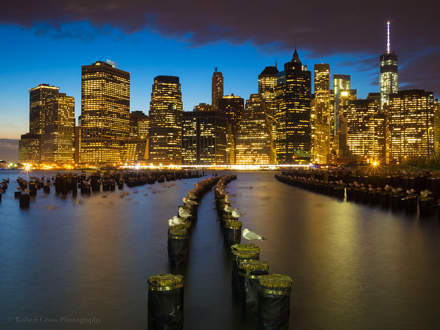 Lower Manhattan Blue Hour