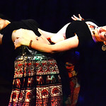 Adriana Jones, (left) and Joy Hearten-Johnson perfrom a Tribal Fusion bellydance.