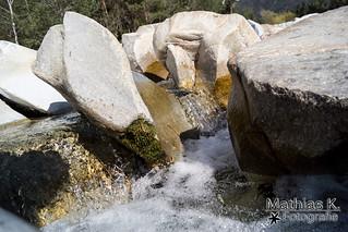 Weise Steine der Gail