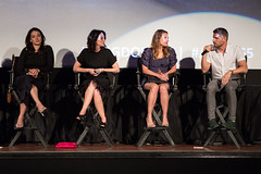 Natalie Martinez, Joanna Going, Kiele Sanchez and Matt Lauria