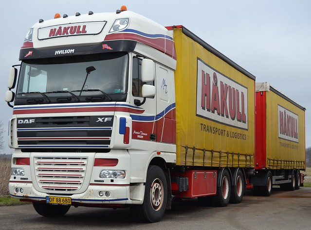 DAF XF - Håkull Transport & Logistics - Thomsen Martin  Hvilsom - DK  DF 88 680
