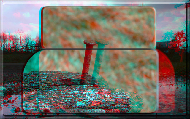 Nailed It ! - Anaglyph 3D