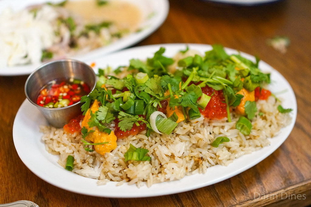 uni garlic fried rice @ night+market