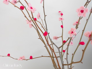 cherry blossom plus beanie how to 016 | by chileanhands