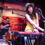 Wed, 25/03/2015 - 12:52pm - Houndmouth performs songs for an audience of WFUV Marquee Members, 3/11/15. Hosted by Carmel Holt. Photo by Gus Philippas.
