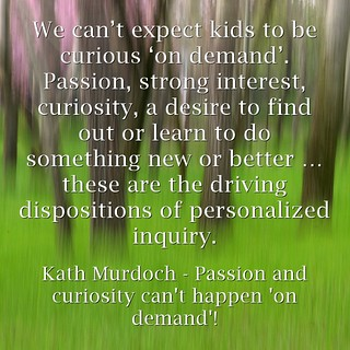 Passion and curiosity can't happen 'on demand' | by mrkrndvs
