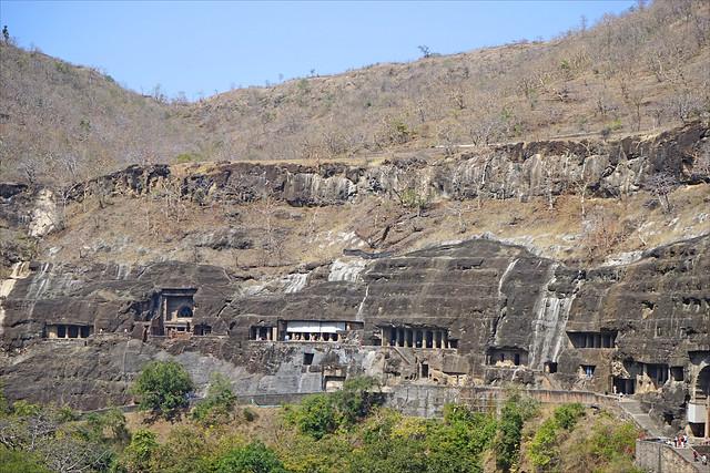 Les grottes bouddhiques d'Ajanta (Inde)
