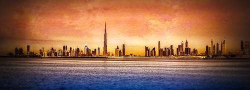 Dubai Skyline | by Fariz Safarulla