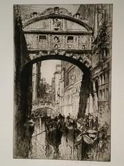 De brug der Zuchten, Veneti� - Frank Brangwyn (1867-1956)