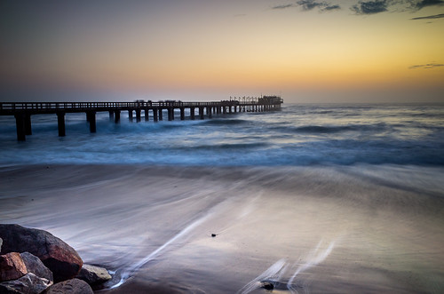 longexposure water colors composition landscape rocks waves waterfront dusk wideangle na namibia ricohgr peer swakopmund erongo