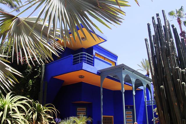 Jardin Majorelle cactus