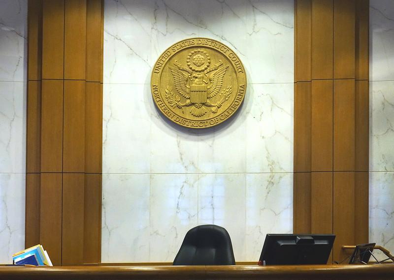 "Solid Oak Seal 42"" Seal, Oakland Ceremonial Courtroom"