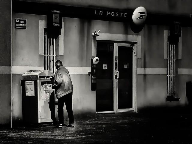 Bénitier postal ?