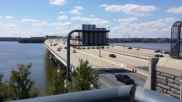 Woodrow Wilson Bridge - Alexandria, Va - Oxon Hill, Md