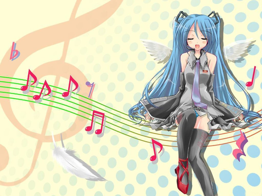 Anime Music Wallpaper Free Hd Desktop Anime Music Wallpape