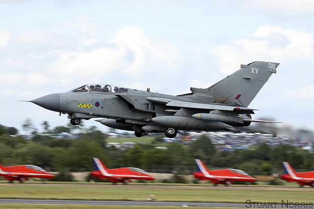 Tornado GR4 ZA410 016 - XV Squadron RAF Lossiemouth