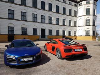 Audi R8 V10 -14 vs Audi R8 V10 -16 | by AudiBloggen