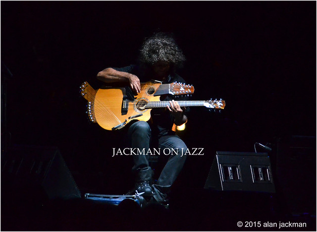 Pat Metheny, Pat Metheny Trio with Special Guest Kenny Garret, 2015 Detroit Jazz Festival