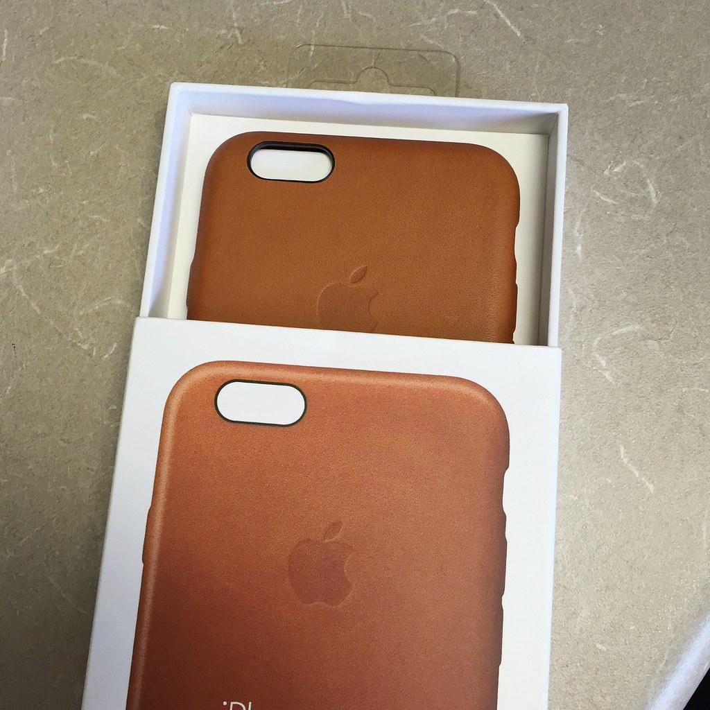 pretty nice 8f0da 5177b apple iPhone 6/6s saddle brown leather case.   Yanki01   Flickr