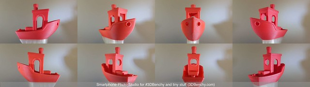 09 - Smartphone Photo Studio for #3DBenchy and tiny stuff (sample photo - #3DBenchy 5)