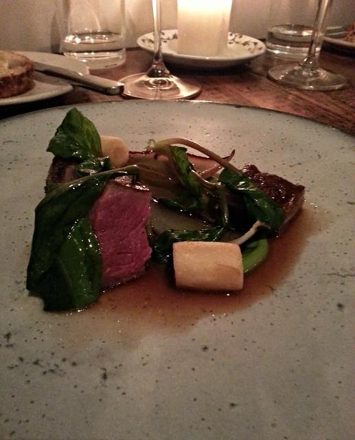 The Clove Club - Hebridean Lamb, Anchovy, Parmesan, Spinach & Crisp Potato