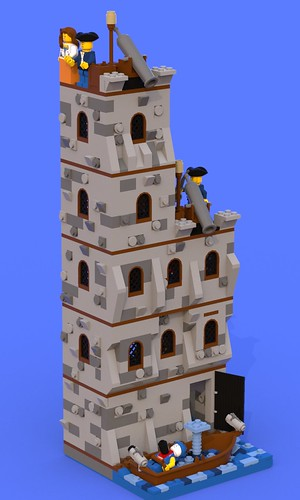 Pillage the Village Tower2 | by SilentWolf Legos