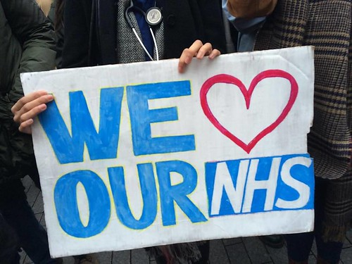 NHS Junior Doctors Protest | by birmingham_eastside