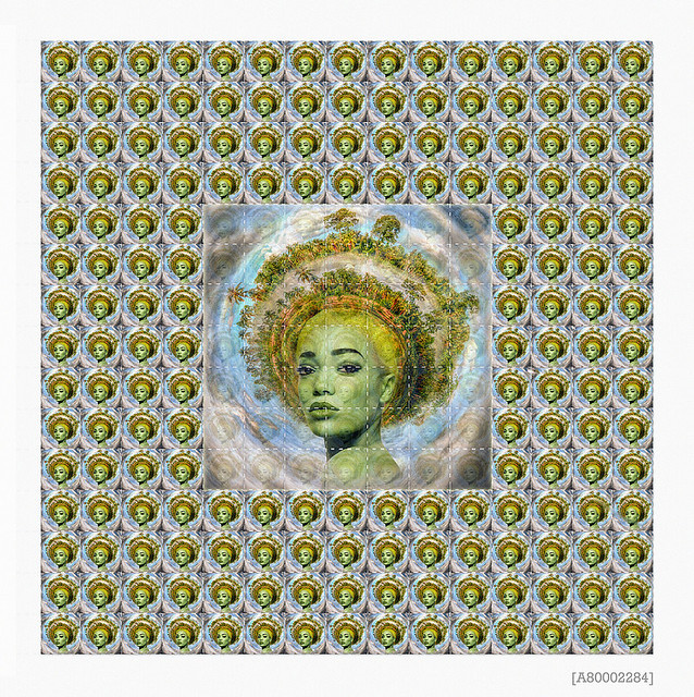 Gaia Blotter Art Series