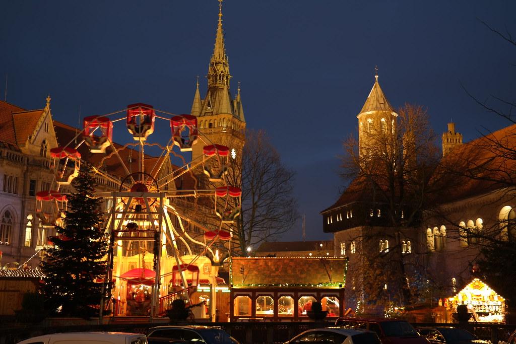 Weihnachtsmarkt Braunschweig.Weihnachtsmarkt Braunschweig Riesenrad Und Dom Uwe Stengele Flickr