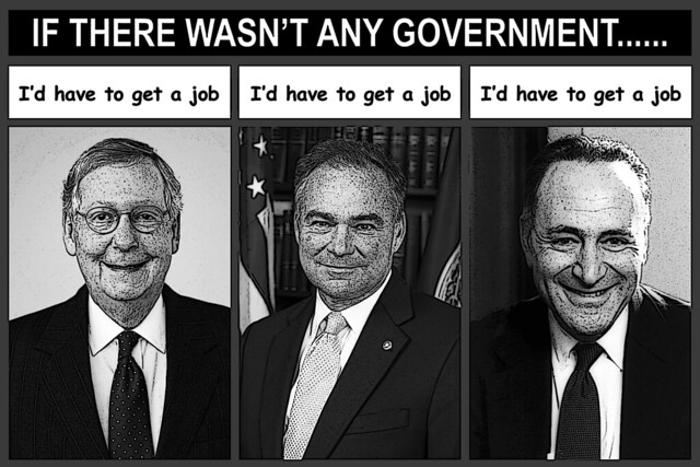 Government Provides Jobs For Misfits