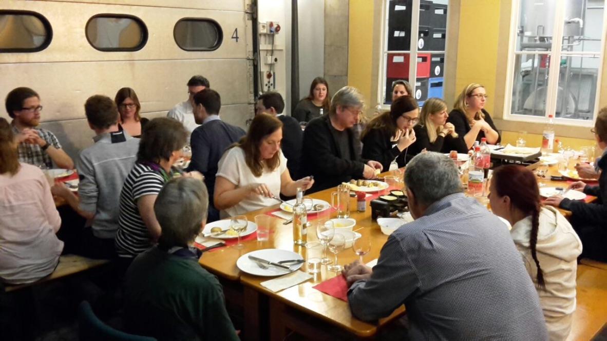 Neujahrsapéro / Raclette-Essen 03.01.2017