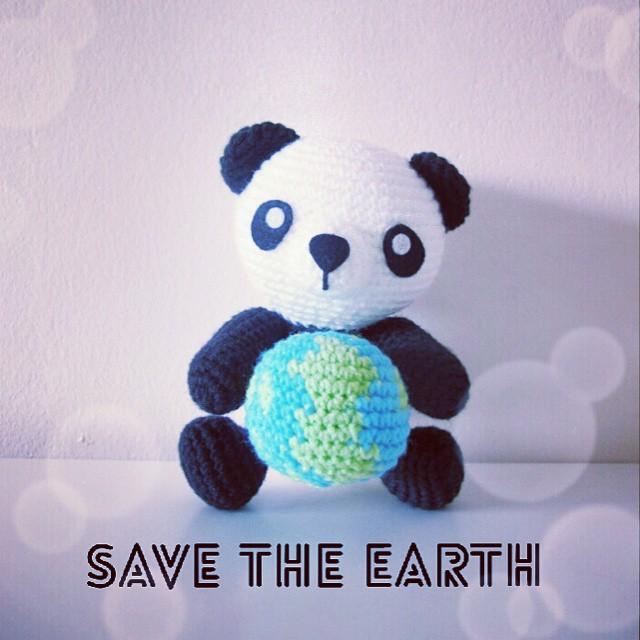 Panda Amigurumi Crochet Tutorial Part 2 - YouTube | 640x640