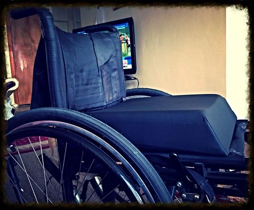 New Wheelchair Cushion. | by Esoteric_Desi