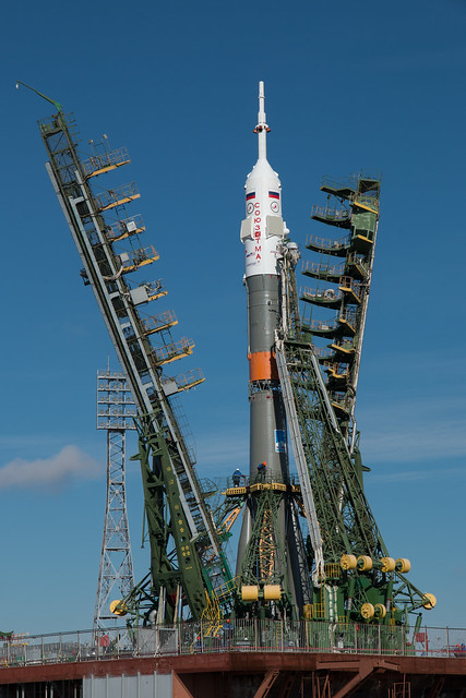 Expedition 43 Soyuz Rollout (201503250036HQ)