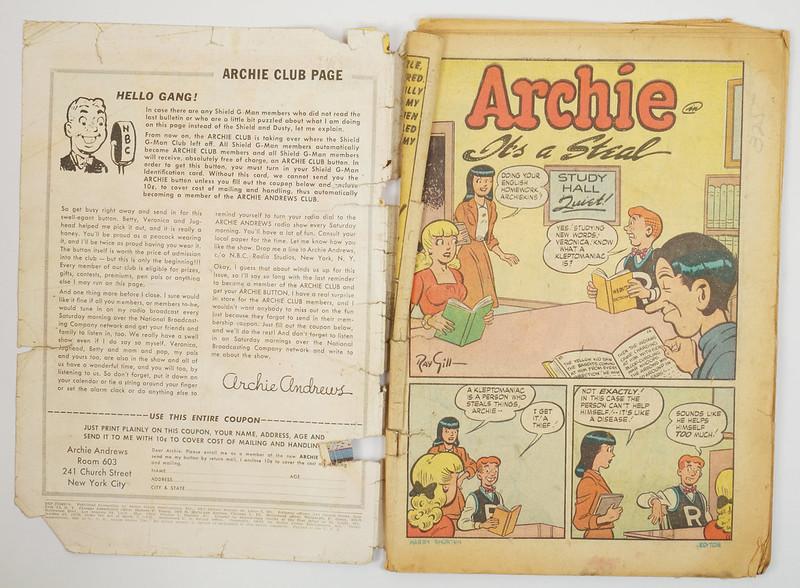 HD0326 Pep Comics 1940 #67 Archie DSC04529