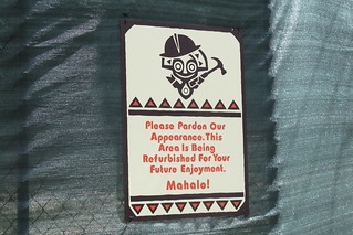 Construction sign at The Poly | by The Tiki Chick