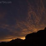Sunset along the Pa'Rus Trail