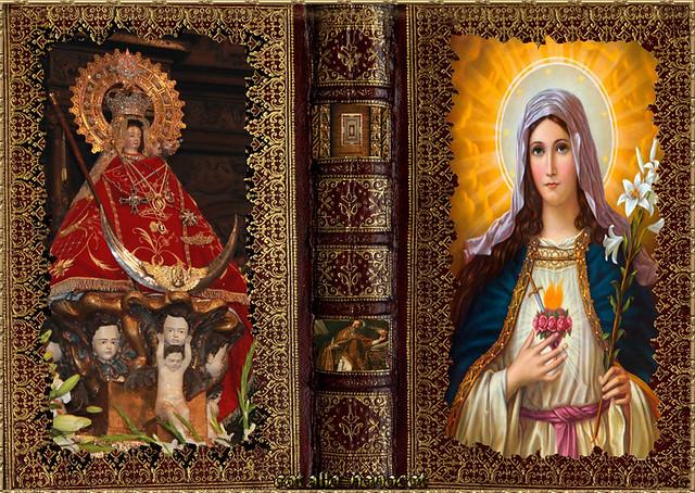 Virgen de La montaña y Sagrado Corazón de Jesus