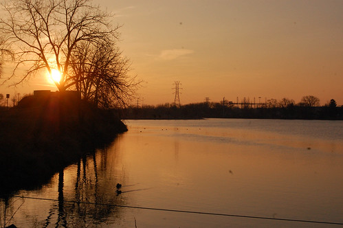wisconsin sunrise reflections outdoors earlymorning ducks critters wi warmspringday janesvile firstdaysofspring2015