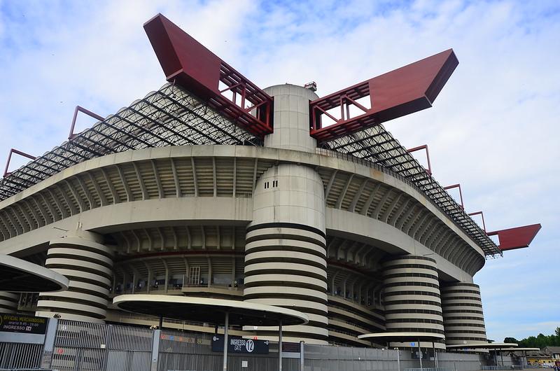 The San Siro stadium