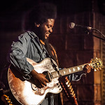 Thu, 14/07/2016 - 3:56pm - Michael Kiwanuka performs for WFUV Radio at the Cutting Room in New York City, April 3, 2016. Hosted by Rita Houston. Photo by Gus Philippas