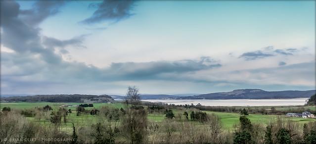 The Kent Estuary, Cumbria