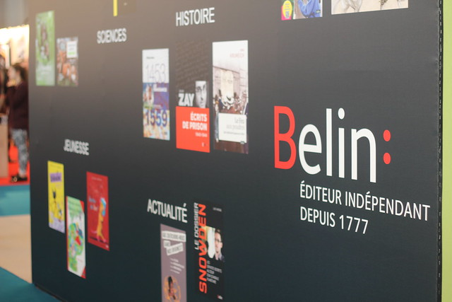 Belin - Salon du Livre de Paris 2015