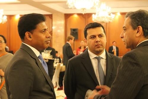 Mr. Pratyush Kumar, President of Boeing India and VP of Boeing International and Mr. Jwalant Nanavati, MD and Head of Investment Banking, BNP Paribas India