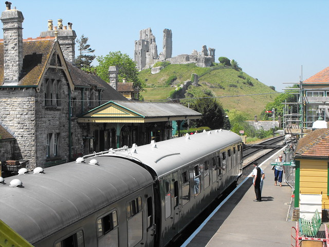 Swanage Railway - Corfe Castle Station - June 2010