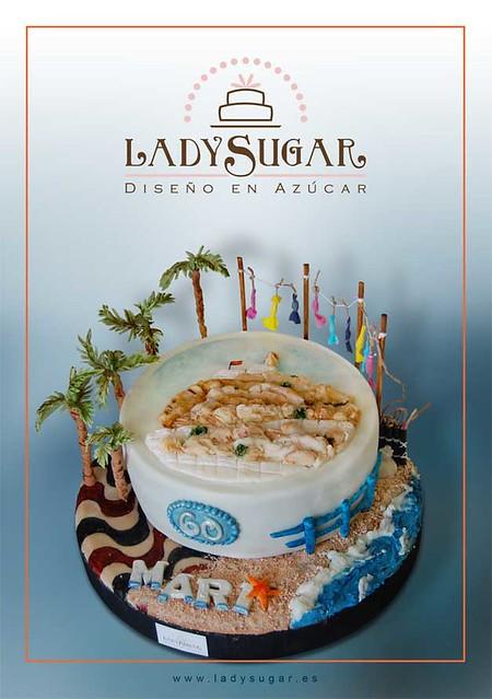 Tarta Alicante - Alicante city cake