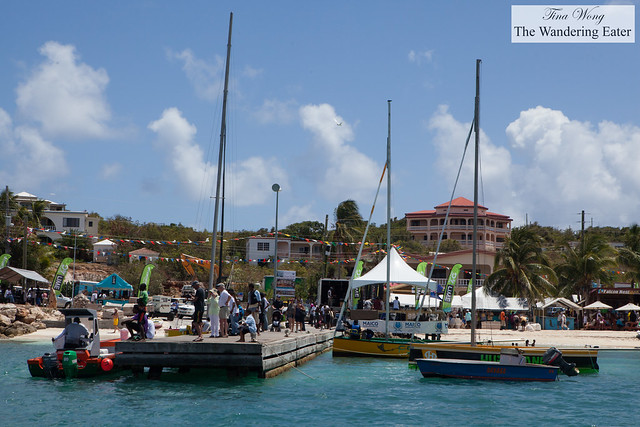View of Festival del Mar's Harbor Bay from our boat
