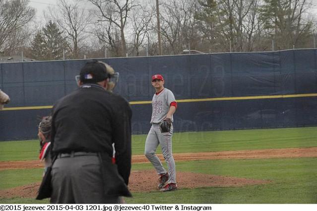 2015-04-03 1201 College Baseball - St John's Red Storm @ Butler University Bulldogs